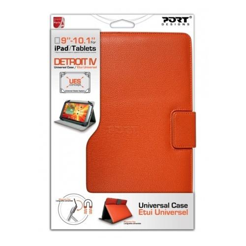 "Port Designs Etui Tablette 10"" Orange"