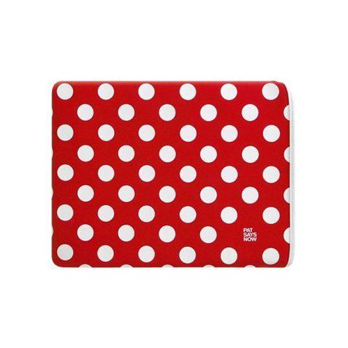 Says Housse iPad 2, 3, 4 Pois Rouge Blanc