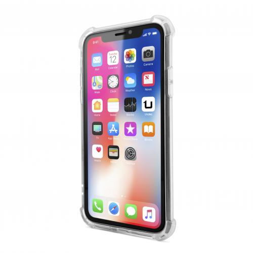 Coque Antichoc TPU Gel iPhone X Transparente