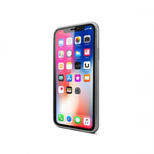 Coque TPU Gel iPhone X Gris