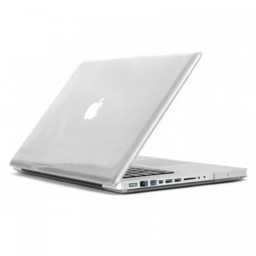 "Coque MacBook Pro 13"" Velours Transparent"