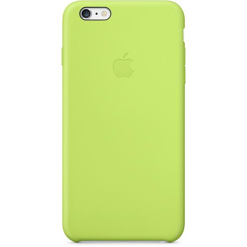 Apple Coque Silicone iPhone 6 Plus et 6S Plus Vert