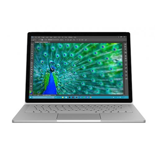 """Microsoft Surface Book 1 13"""" Core i5 8Go 128Go SSD Argent (CR9-00002) + Clavier Qwerty & stylet"""