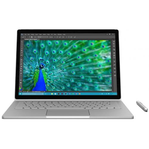 "Microsoft Surface Book 1 13"" Core i7 8Go 256Go SSD Argent (SX3-00001) + Clavier Qwerty & stylet"
