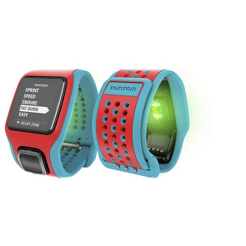 TOMTOM Runner Cardio Turquoise Rouge