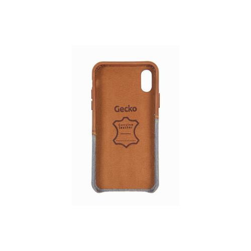 Gecko Covers Coque pour iPhone X Limited braun