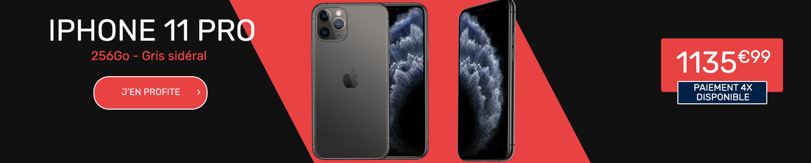 iPhone 11 Pro 256Go gris sideral